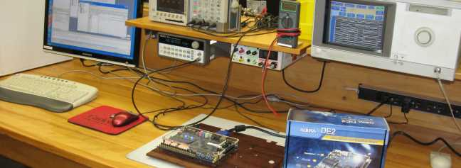 Testing an integrated sensor circuit board